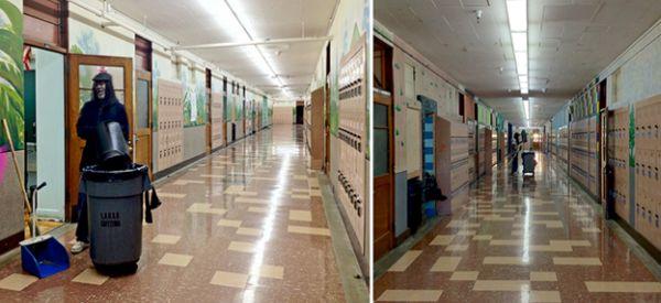 school janitor