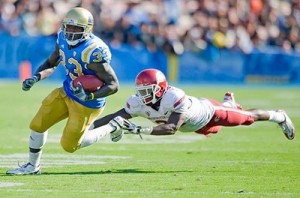 The color of UCLA sports teams are gold and blue