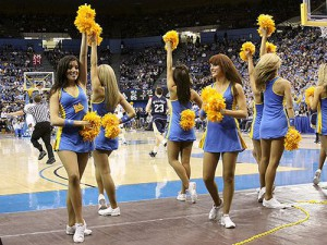 Girls cheerleader in UCLA