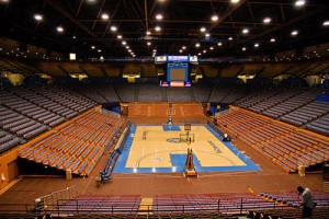 new basketball arena on the campus of UCLA