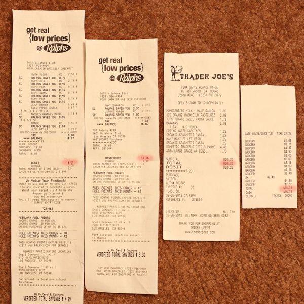 the checks