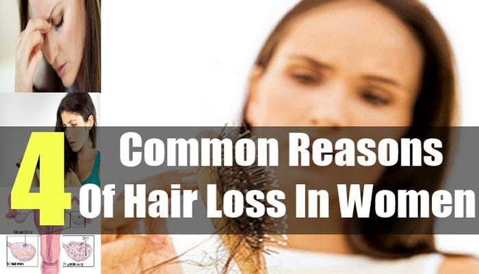 4 Common Female hair loss Causes